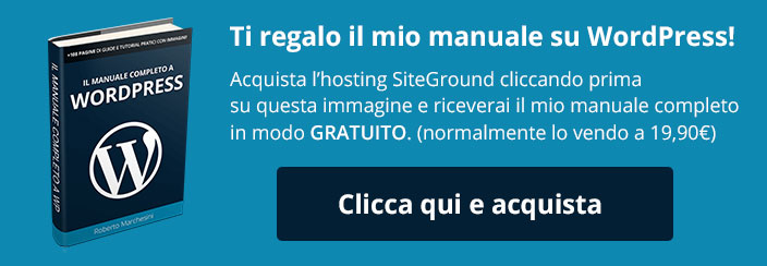 Manuale WordPress-SiteGround