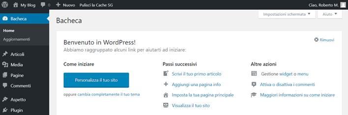 Come installare WordPress su SiteGround-Step13